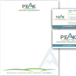 Peak Grounds Management Identity Design